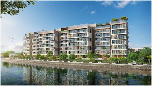 Giới nhà giàu Sài Gòn không tiếc tiền mua căn hộ ven sông
